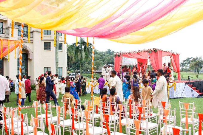 Garden Wedding by Palace of the Golden Horses - 006
