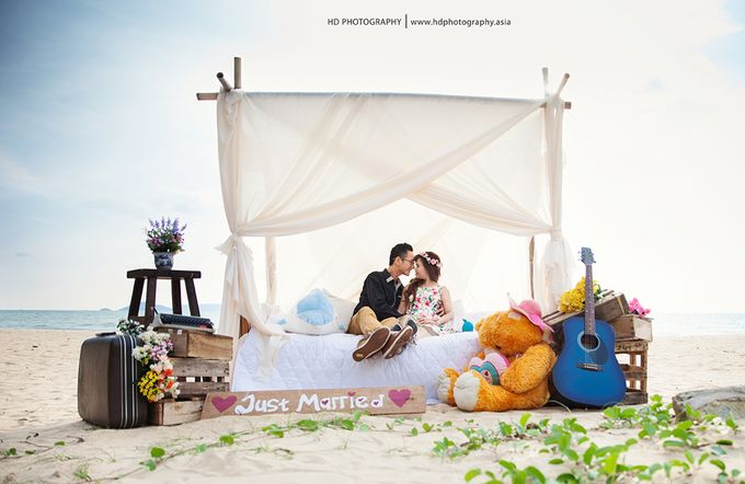 Agus & Lia Pre-wedding by HD Photography - 001