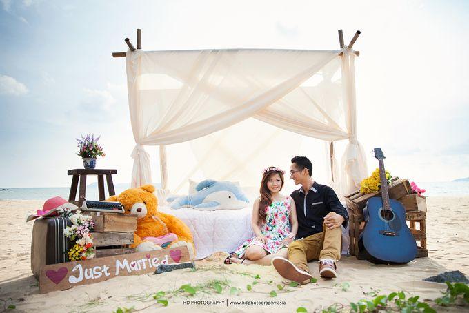 Agus & Lia Pre-wedding by HD Photography - 003