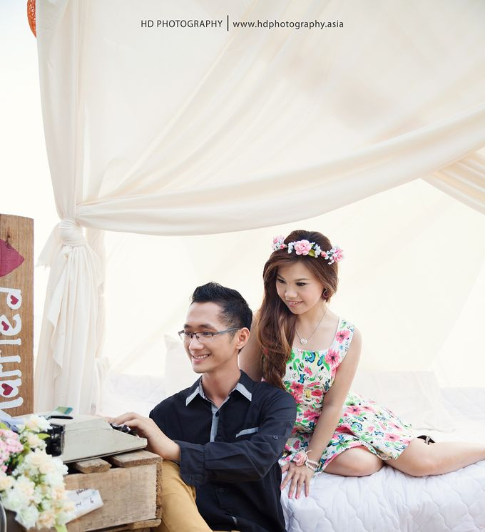 Agus & Lia Pre-wedding by HD Photography - 005