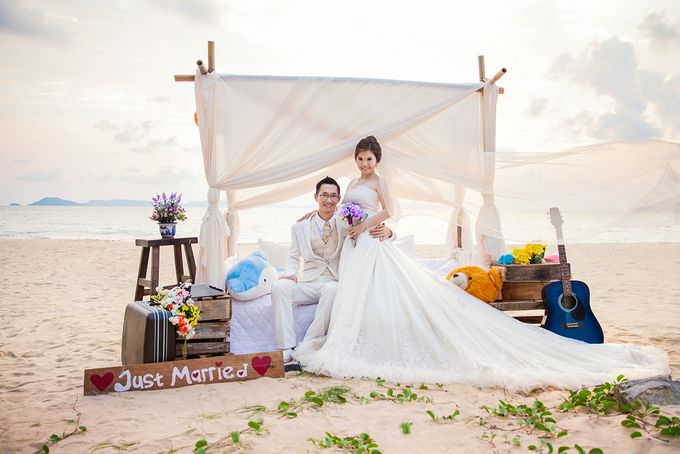 Agus & Lia Pre-wedding by HD Photography - 011