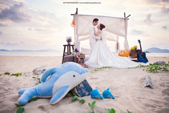 Agus & Lia Pre-wedding by HD Photography - 013