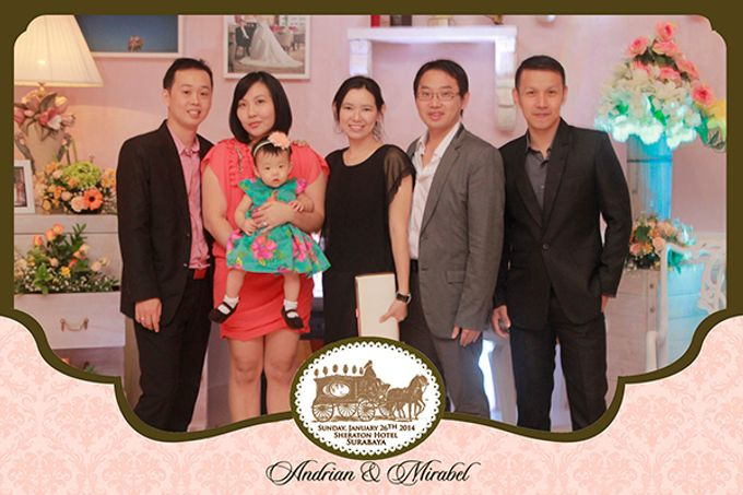 The Wedding of Andrian & Mirabel by After 5 Photobooth - 002