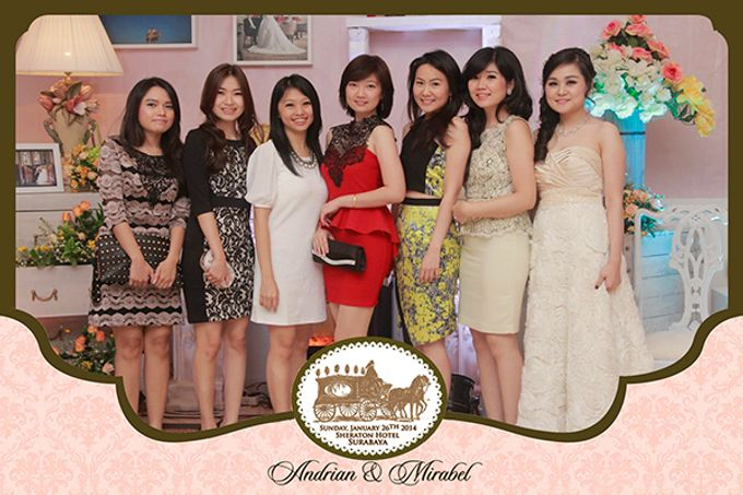 The Wedding of Andrian & Mirabel by After 5 Photobooth - 003