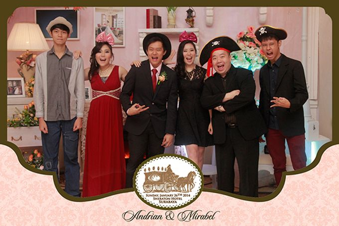 The Wedding of Andrian & Mirabel by After 5 Photobooth - 005
