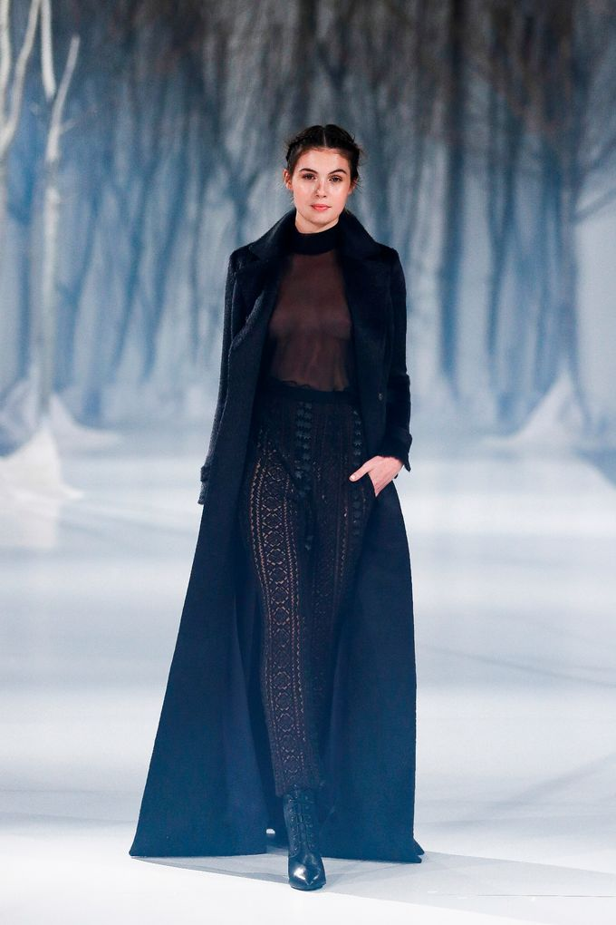 Paolo Sebastian - The Snow Maiden Autumn-Winter 2016 collection by The Proposal - 024