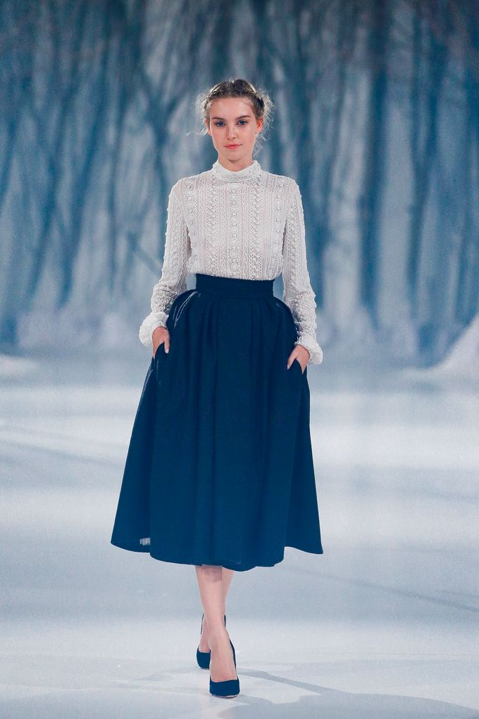 Paolo Sebastian - The Snow Maiden Autumn-Winter 2016 collection by The Proposal - 026