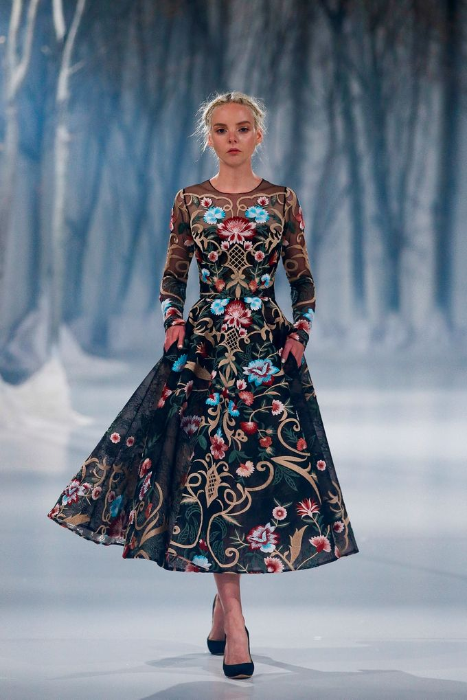 Paolo Sebastian - The Snow Maiden Autumn-Winter 2016 collection by The Proposal - 031