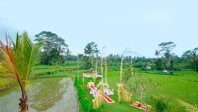 Ricefield Wedding at De Klumpu Bali by De Umah Bali - 002