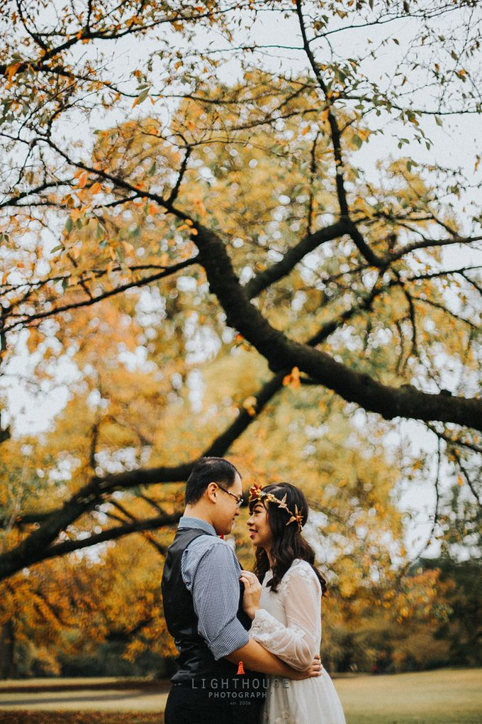 The Prewedding of Dipta and Stella - Tokyo by Lighthouse Photography - 001