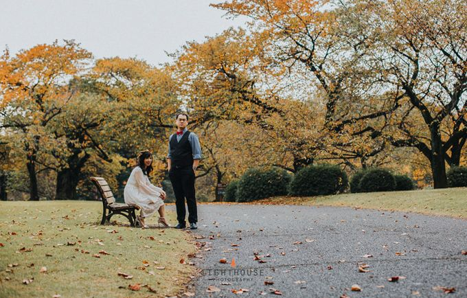 The Prewedding of Dipta and Stella - Tokyo by Lighthouse Photography - 004