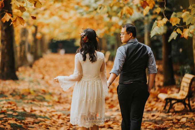 The Prewedding of Dipta and Stella - Tokyo by Lighthouse Photography - 006
