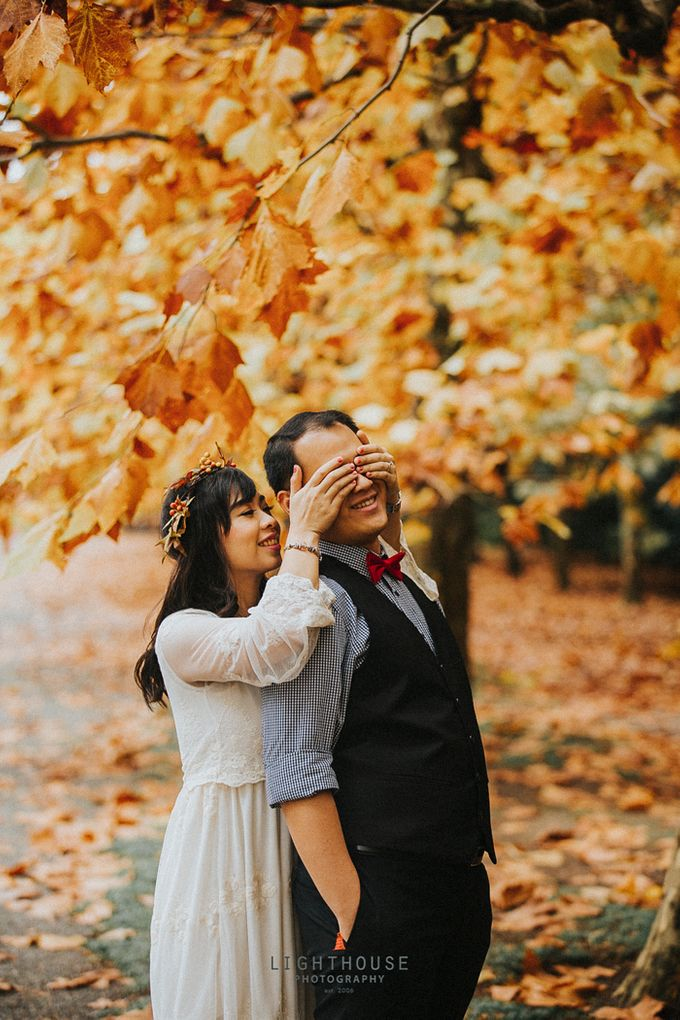 The Prewedding of Dipta and Stella - Tokyo by Lighthouse Photography - 007