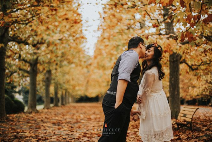 The Prewedding of Dipta and Stella - Tokyo by Lighthouse Photography - 008