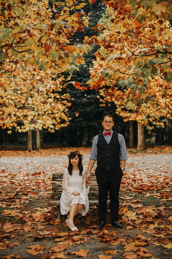The Prewedding of Dipta and Stella - Tokyo by Lighthouse Photography - 009