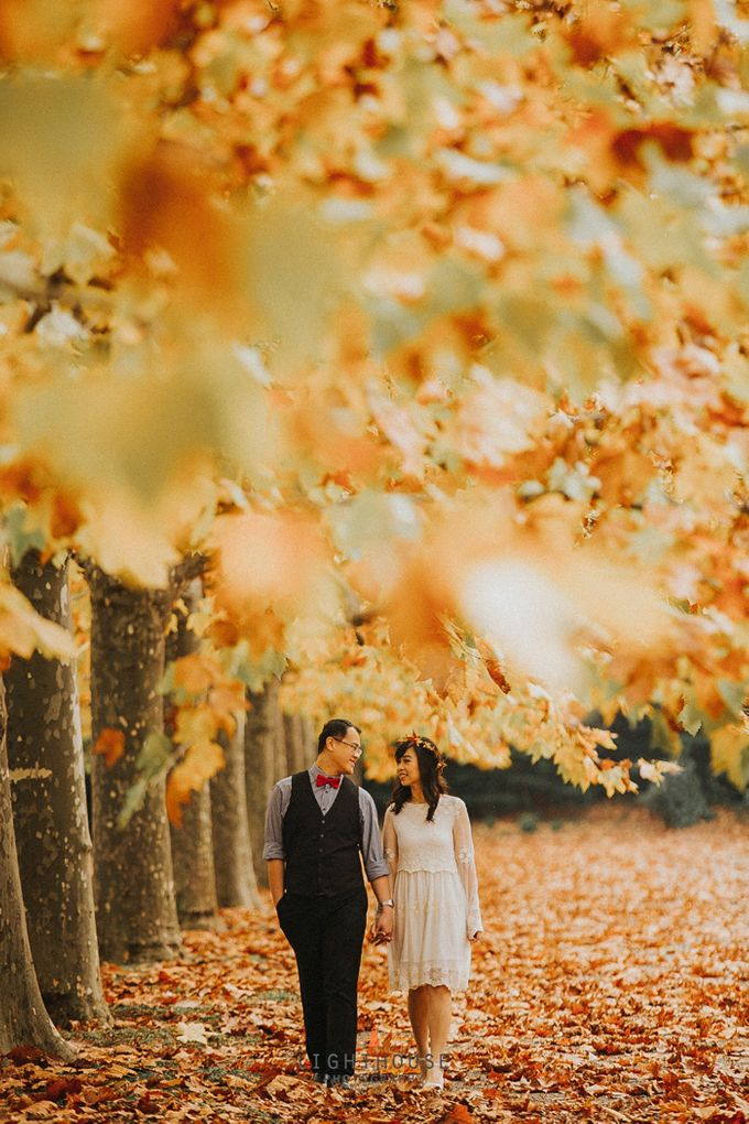 The Prewedding of Dipta and Stella - Tokyo by Lighthouse Photography - 010