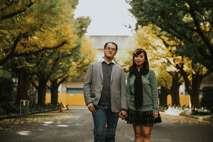 The Prewedding of Dipta and Stella - Tokyo by Lighthouse Photography - 015
