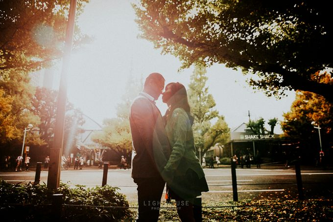 The Prewedding of Dipta and Stella - Tokyo by Lighthouse Photography - 016