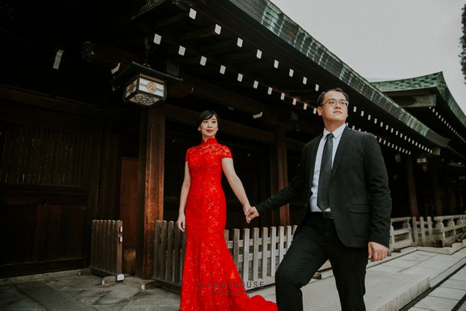 The Prewedding of Dipta and Stella - Tokyo by Lighthouse Photography - 018