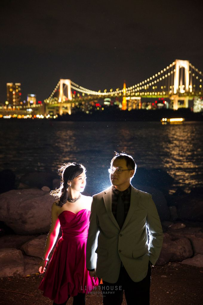 The Prewedding of Dipta and Stella - Tokyo by Lighthouse Photography - 024