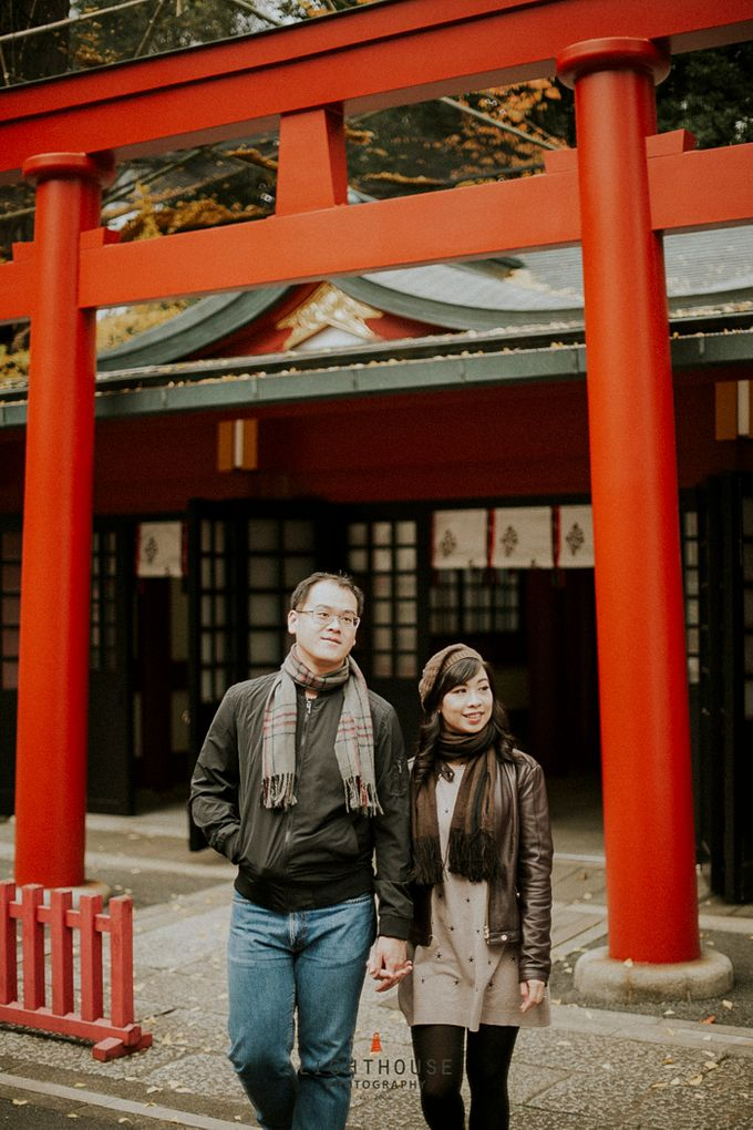 The Prewedding of Dipta and Stella - Tokyo by Lighthouse Photography - 028