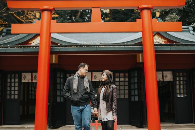 The Prewedding of Dipta and Stella - Tokyo by Lighthouse Photography - 029