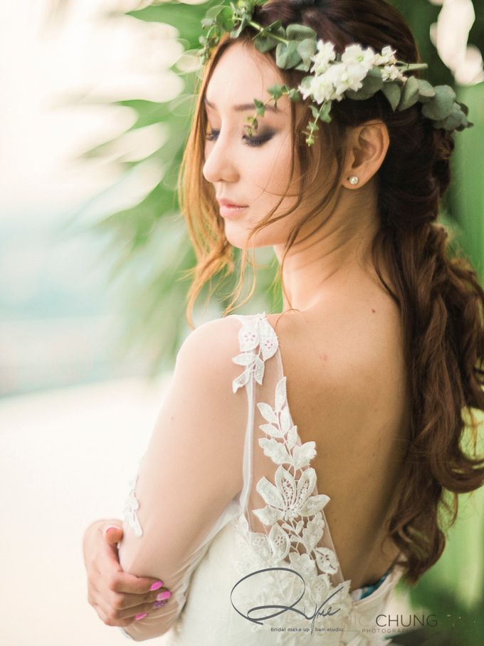 flower bride by Nic Chung Photography - 002