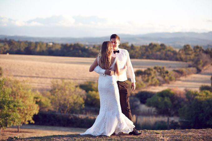 Yarra Valley Weddings by Zonzo Estate - 006