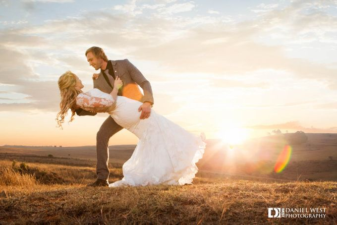 Fairytale wedding at Silver Sixpence Dullstroom by Daniel West - 031
