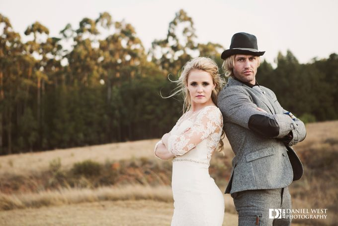 Fairytale wedding at Silver Sixpence Dullstroom by Daniel West - 032