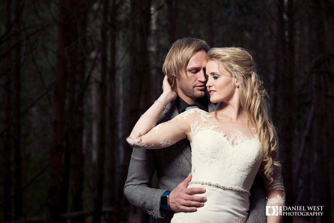 Fairytale wedding at Silver Sixpence Dullstroom by Daniel West - 034