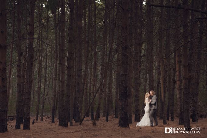 Fairytale wedding at Silver Sixpence Dullstroom by Daniel West - 035