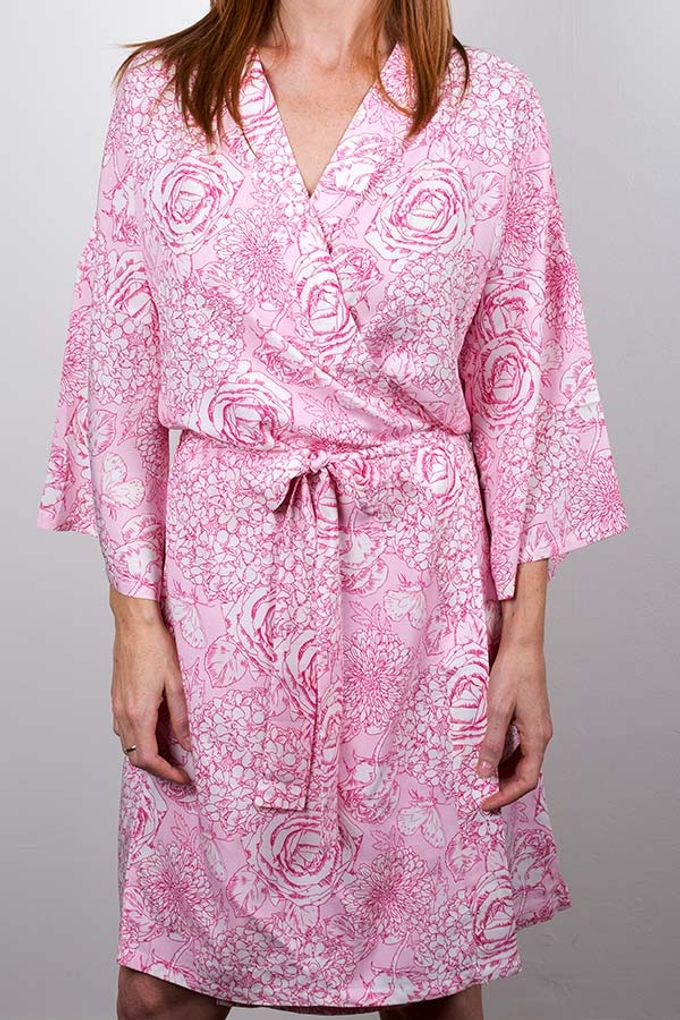 Bridal Robes and Bridesmaids Gifts by Posy Australia - 012