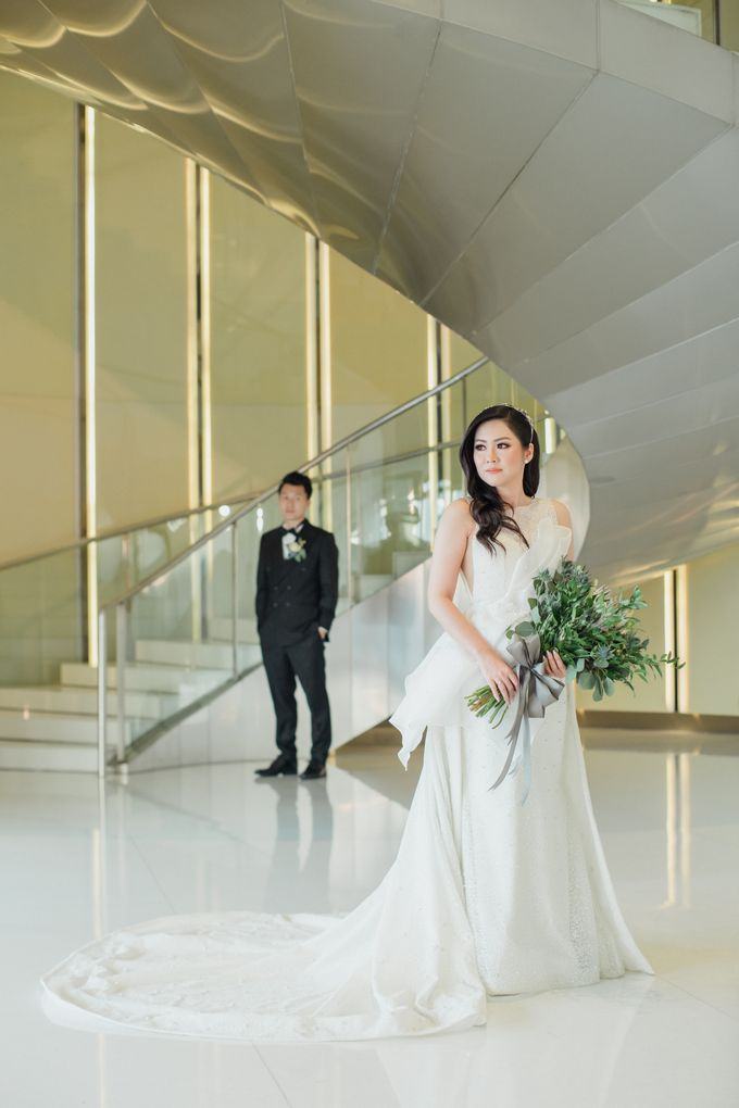 Raymond & Leonie Wedding Day by Wong Hang Distinguished Tailor - 021