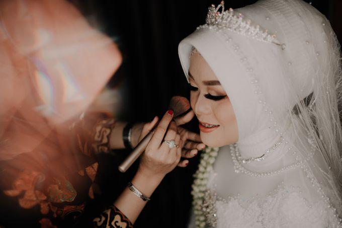Intimate Wedding Fedita & Ubet by Calia Catering - 002