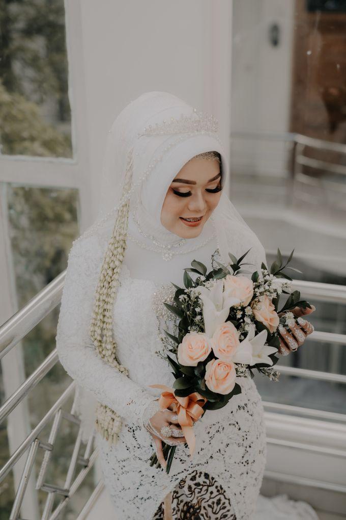 Intimate Wedding Fedita & Ubet by Calia Catering - 006