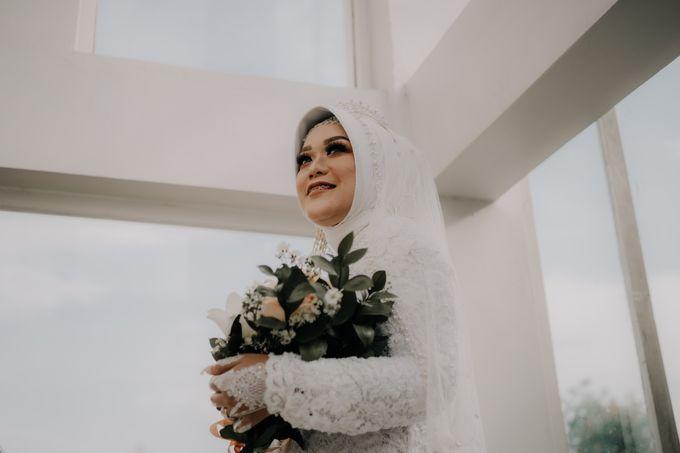 Intimate Wedding Fedita & Ubet by Calia Catering - 045