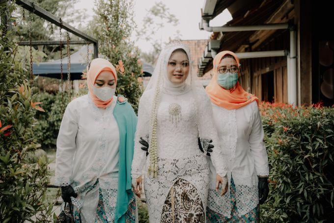 Intimate Wedding Fedita & Ubet by Calia Catering - 043