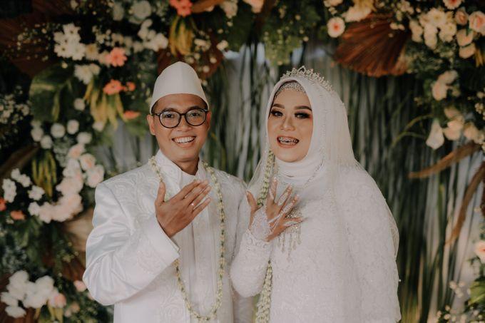 Intimate Wedding Fedita & Ubet by Calia Catering - 032