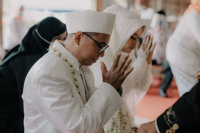 Intimate Wedding Fedita & Ubet by Calia Catering - 022