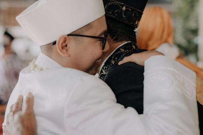 Intimate Wedding Fedita & Ubet by Calia Catering - 016