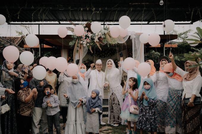Intimate Wedding Fedita & Ubet by Calia Catering - 013