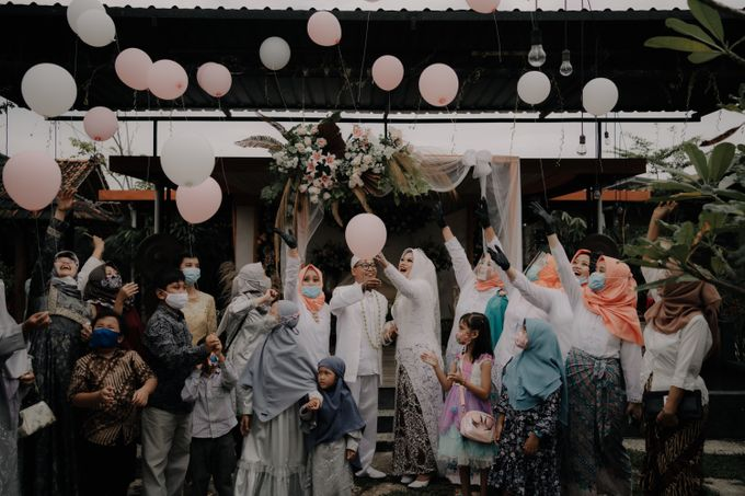 Intimate Wedding Fedita & Ubet by Calia Catering - 046