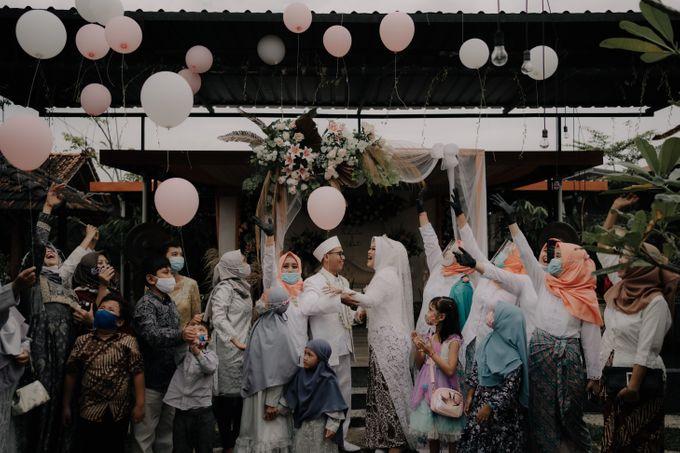 Intimate Wedding Fedita & Ubet by Calia Catering - 049