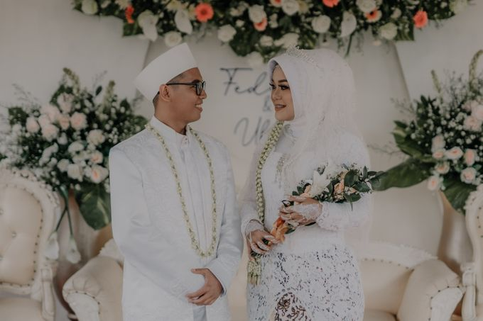 Intimate Wedding Fedita & Ubet by Calia Catering - 012