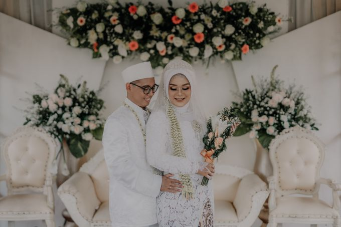 Intimate Wedding Fedita & Ubet by Calia Catering - 021