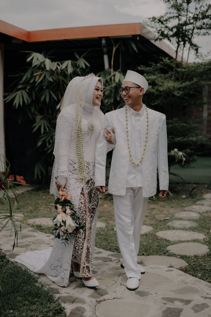 Intimate Wedding Fedita & Ubet by Calia Catering - 050