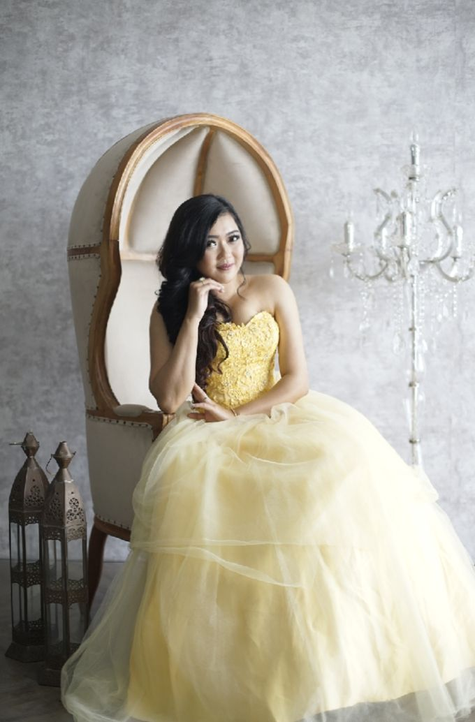 Favor Prewedding Gown - Fresh Like Lemonade by Favor Brides - 005