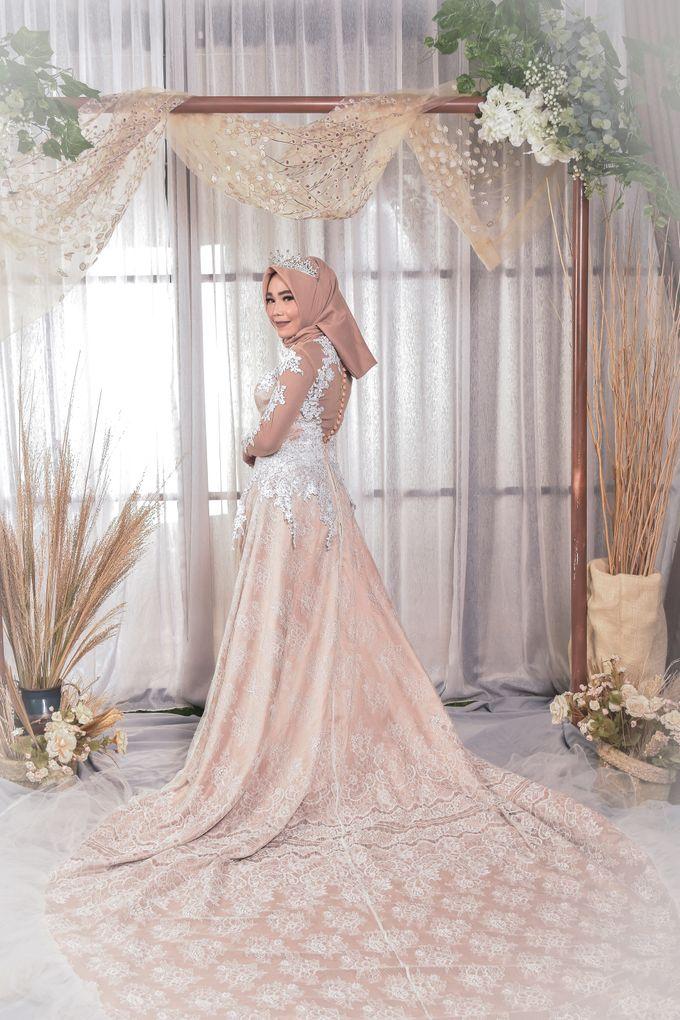 omg...so pretty with hijab by R & E Bridal - 029