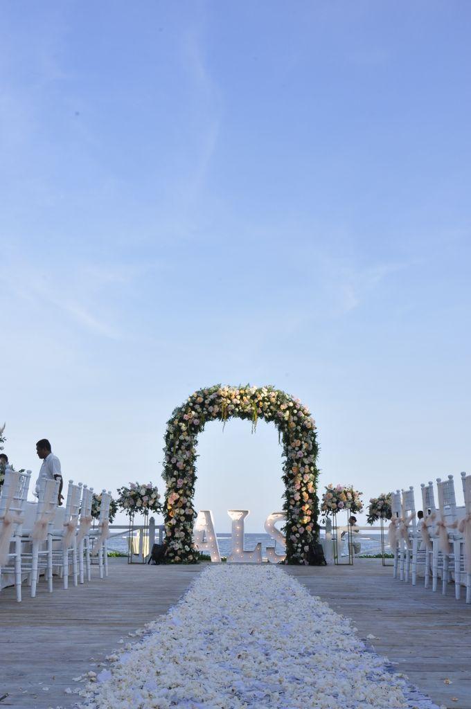 The wedding of  Larry & Anastasia by Dua Insan Decoration - 001